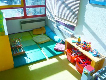 espace jeu bebe